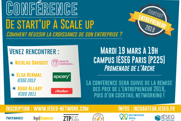 Grande Conférence Entrepreneuriale